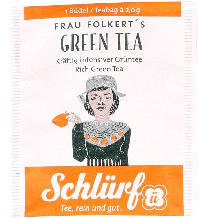 Frau Folkerti roheline tee