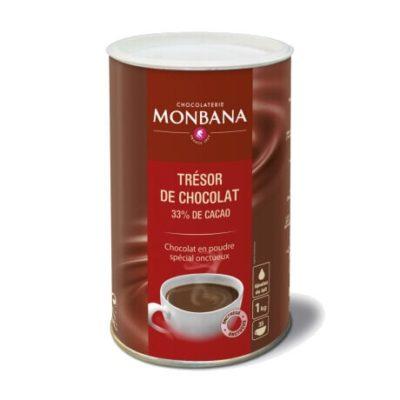 Monbana Tresor kuum šokolaad 1kg